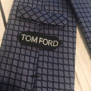 Navy Tom Ford Tie